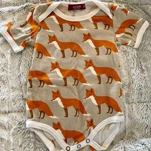 Milkbarn Fox Onesie